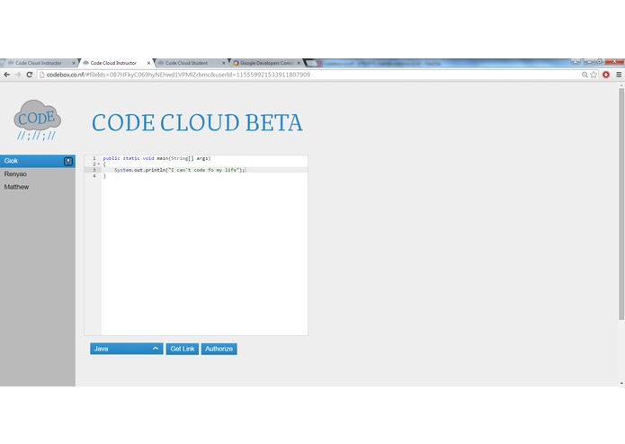 Code Cloud – screenshot 1