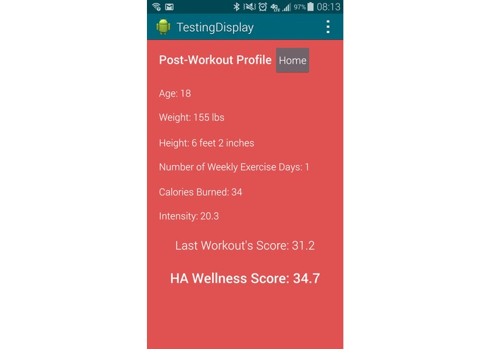 HealthAware – screenshot 10