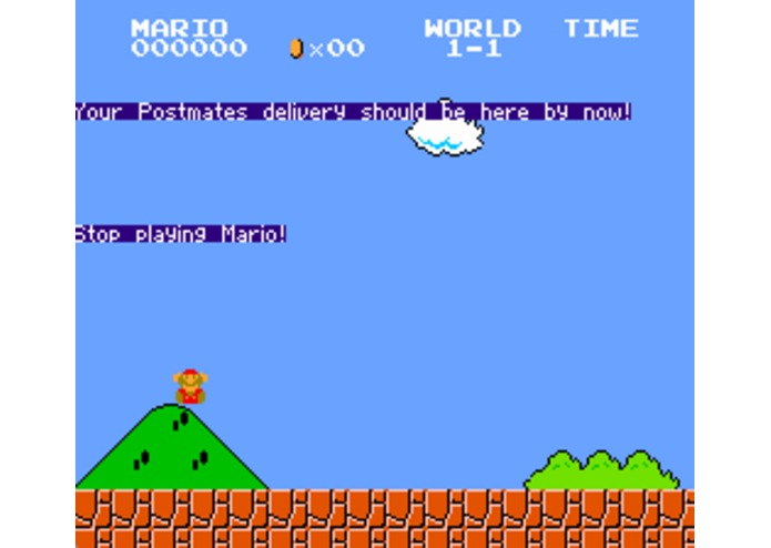 Super Mario's Delivery Countdown – screenshot 1