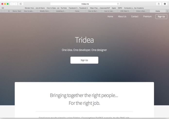 Tridea.me – screenshot 1