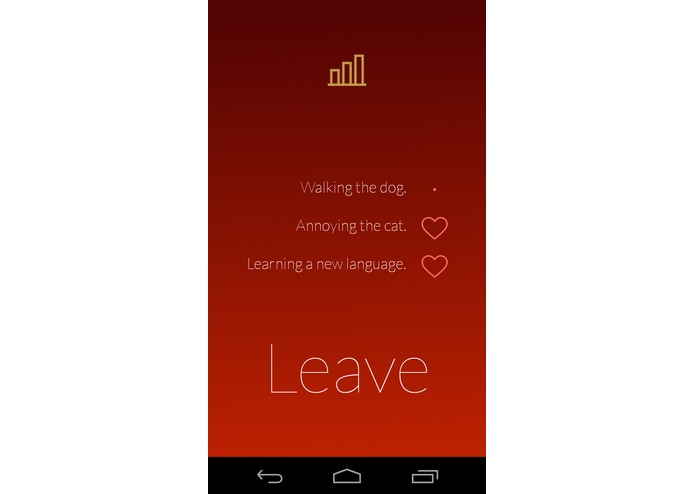 Leave – screenshot 1