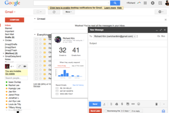 Gmail Helper (Chrome Extension)