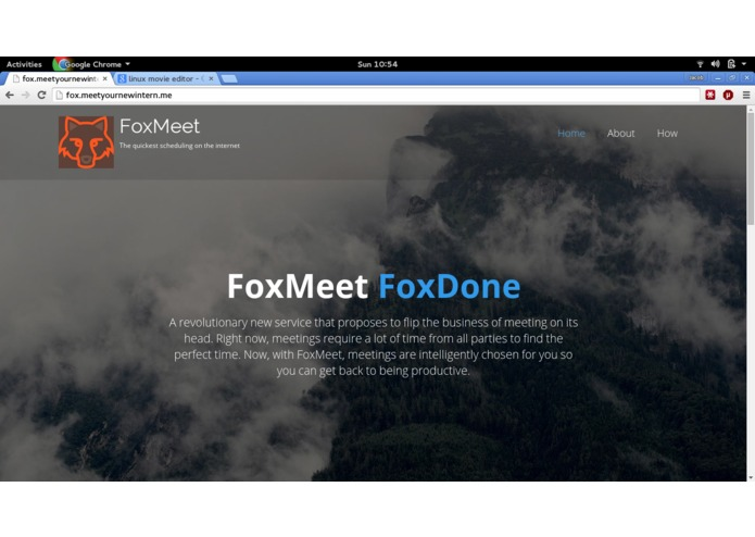 FoxMeet – screenshot 1