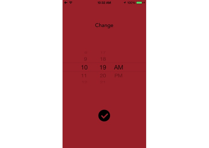 Change - an Alarm for Good – screenshot 5