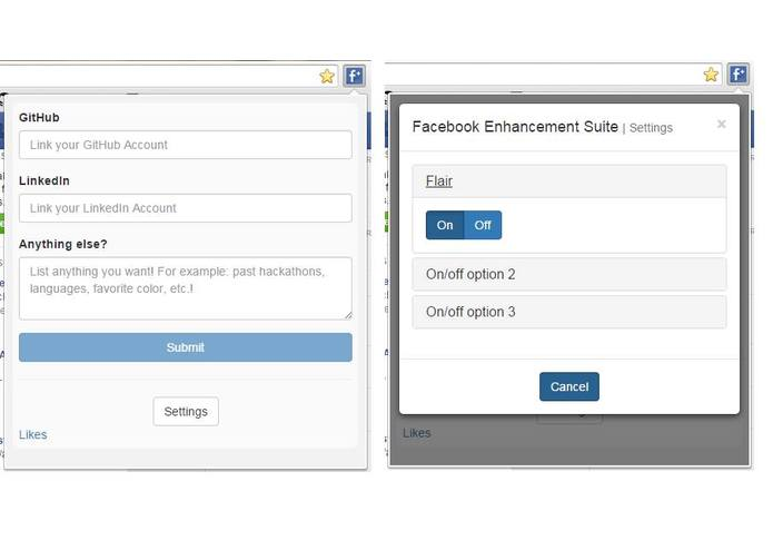 HH Facebook Enhancement Suite – screenshot 1