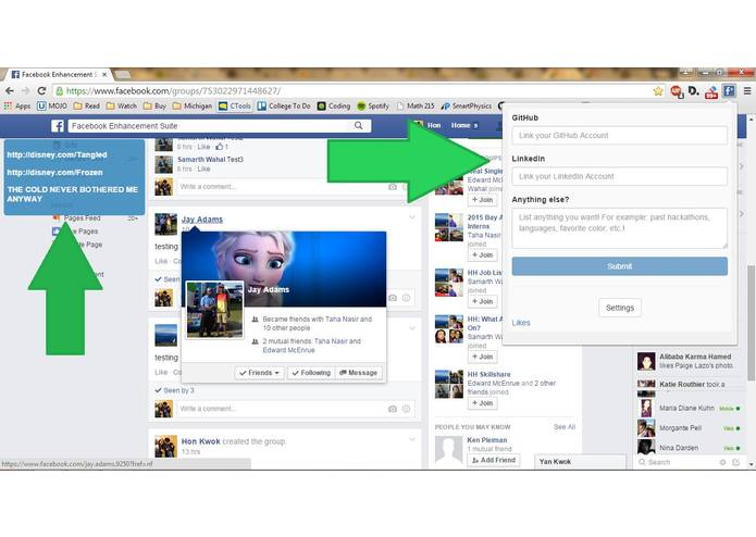 HH Facebook Enhancement Suite – screenshot 2