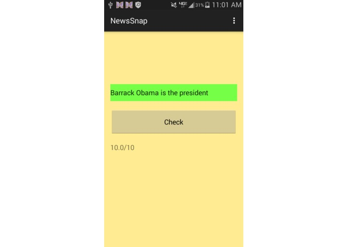 NewsSnap – screenshot 2