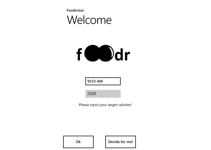 Foodr – screenshot 1