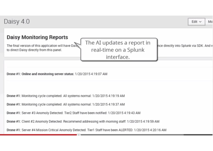 Splunk's Clairvoyant Artificially-Intelligent Hive Intelligence Connecting Microsoft SCCM – screenshot 3