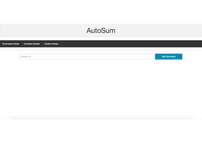 AutoSum – screenshot 1