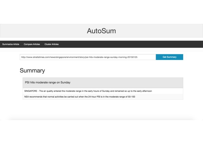 AutoSum – screenshot 3