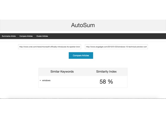 AutoSum – screenshot 5