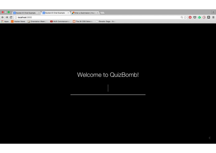 quizbomb – screenshot 1