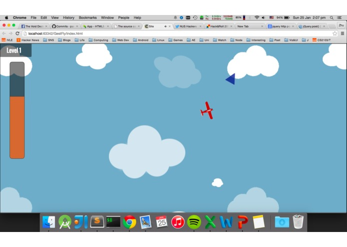 GestFly – screenshot 1