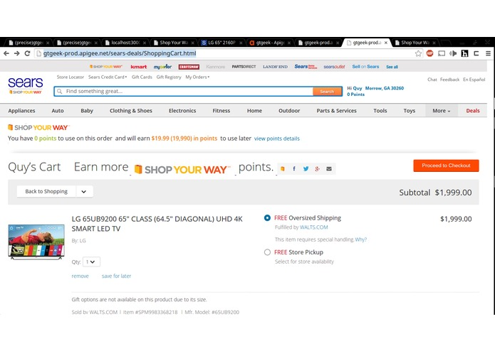 Every Customer is a Sears Marketer – screenshot 1