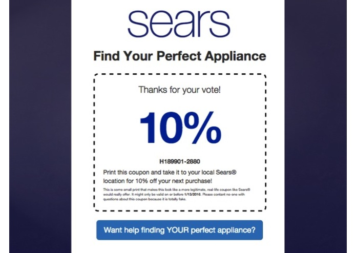 Sears Social Shopping – screenshot 9