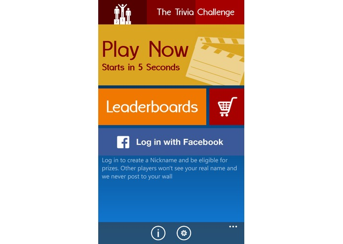 The Trivia Challenge – screenshot 1