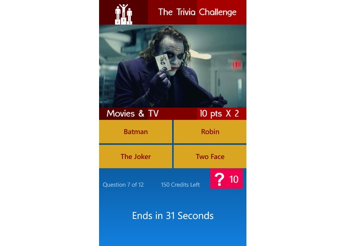 The Trivia Challenge – screenshot 2