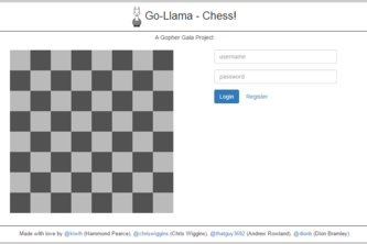 Go-Llama Internet Chess Exchange