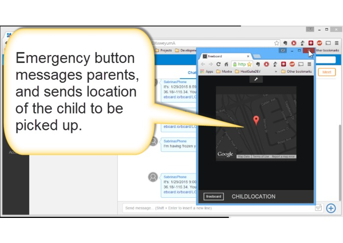 Moxtra IMOK - Keeping Children Safe (and making parents feel better). – screenshot 1