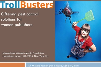 TrollBusters: Offering pest control for women online