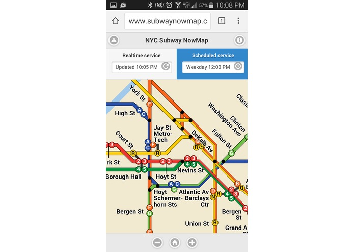 Subway NowMap – screenshot 7