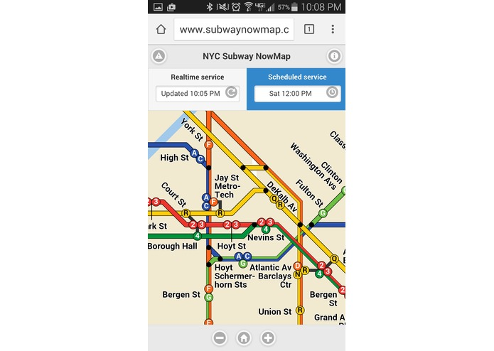 Subway NowMap – screenshot 8