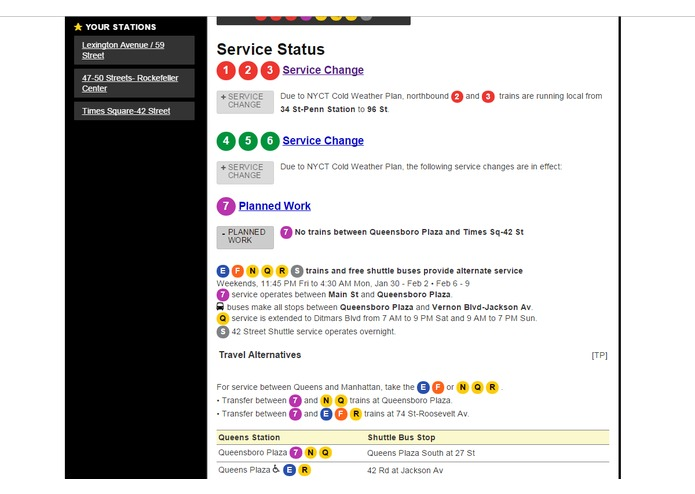 subwayExpert.com – screenshot 4