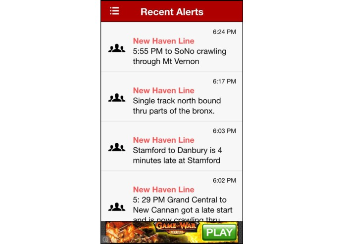Clever Commute - Free iOS and Android apps for realtime crowdsourced commuter info – screenshot 1