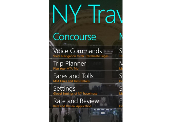 NY Travelmate – screenshot 5