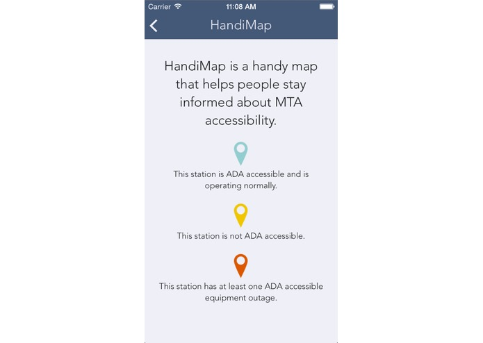 HandiMap – screenshot 2