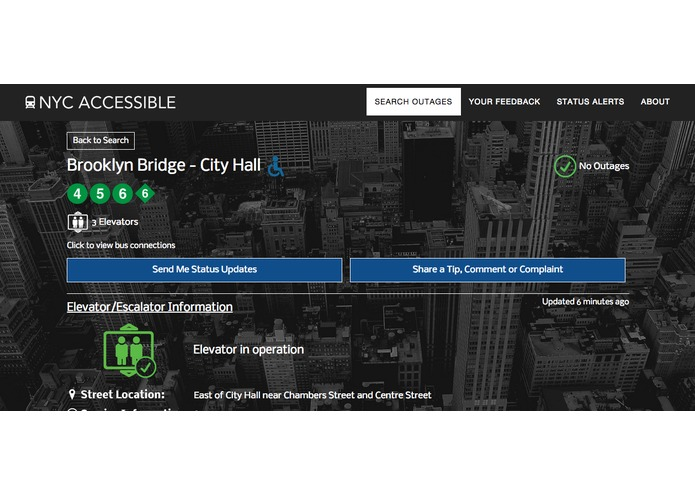 NYC Accessible – screenshot 2