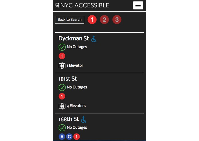 NYC Accessible – screenshot 5