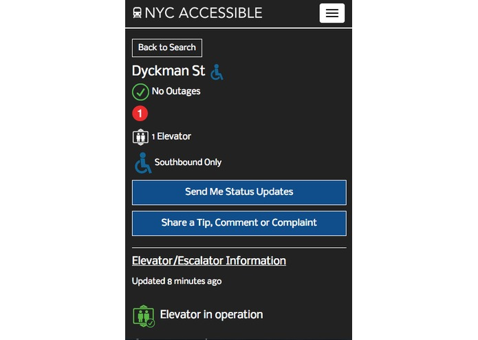 NYC Accessible – screenshot 6