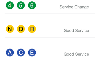 NYC Lines