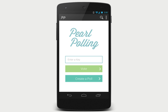 Android PearlPolling App