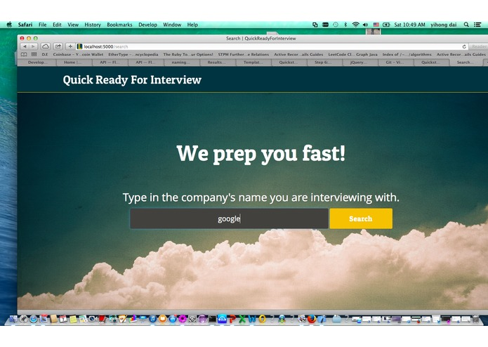 QuickReadyForInterview – screenshot 1