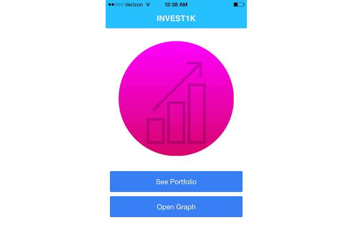 Invest1k – screenshot 1