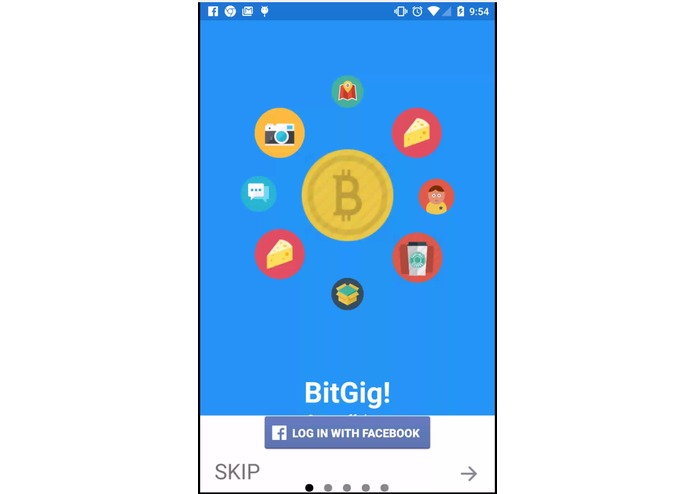 BitGig – screenshot 1