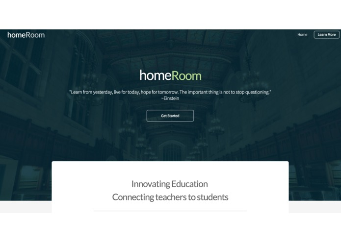 homeRoom – screenshot 1