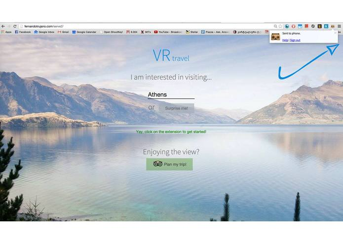 VRtravel – screenshot 1