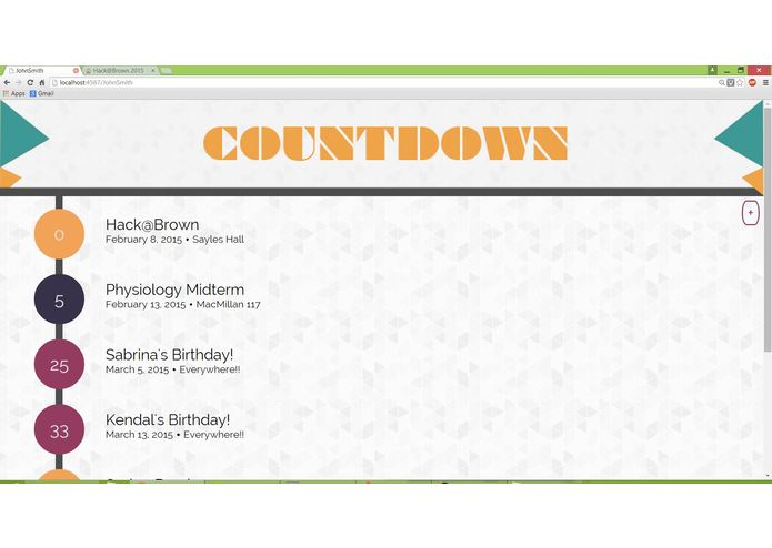 Countdown – screenshot 1