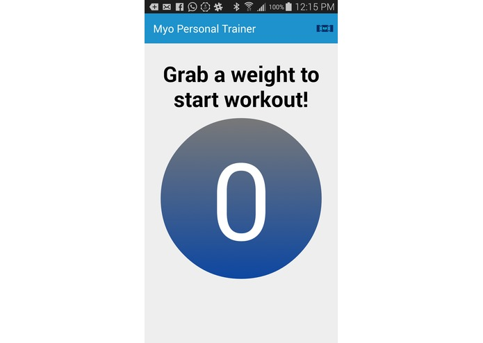 MyoFlex: Personal Fitness Trainer – screenshot 1