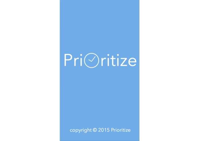 Prioritize – screenshot 1