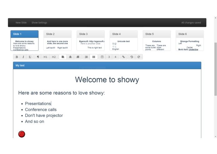 Showy – screenshot 3