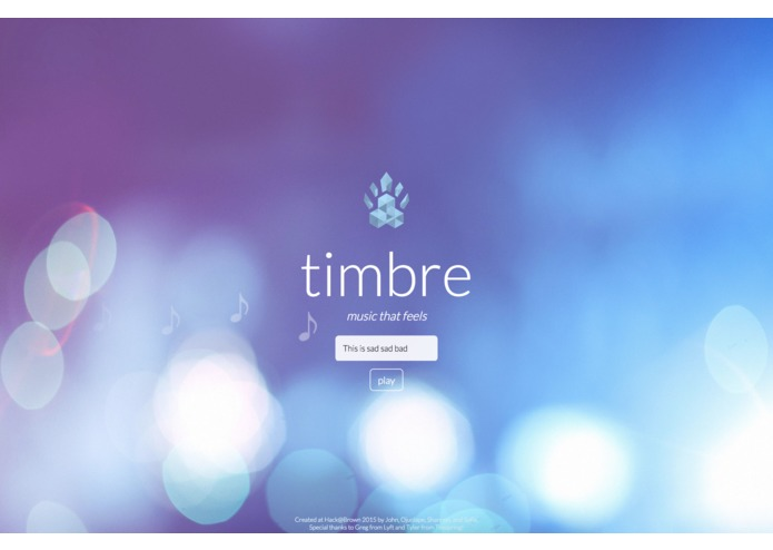 Timbre – screenshot 1