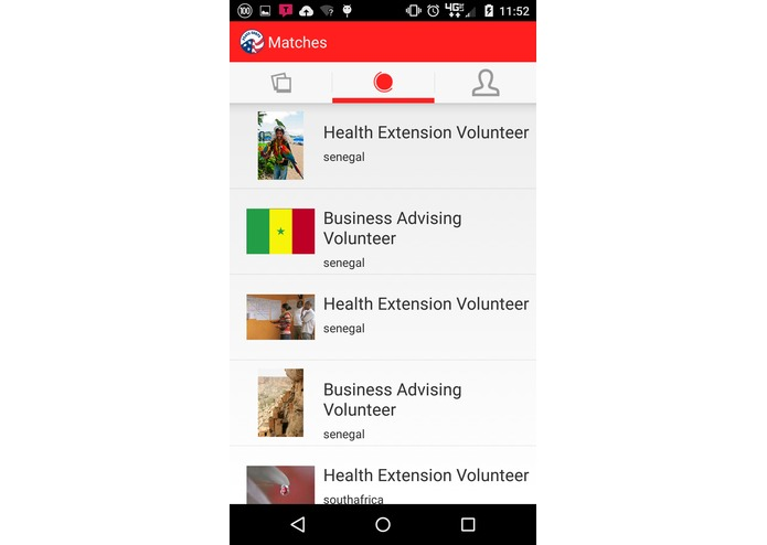 Tinder for Peace Corps – screenshot 2