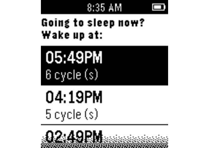 Sleepyti.me Pebble – screenshot 1