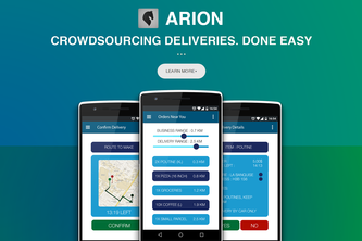 Arion - Crowdsourcing Courier