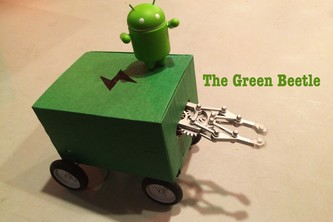 The Green Beetle